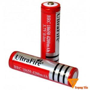 Pin sạc 18650 4200mAh Ultrafire