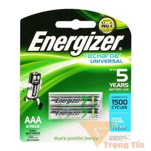 Pin Sạc aaa energizer 700mah (vỉ 2 viên)