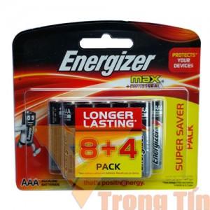 Pin AA Energizer Alkaline vỉ 12 viên