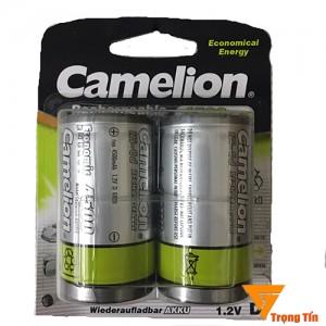 Pin sạc đại Camelion, pin sạc D (vỉ 2 viên)