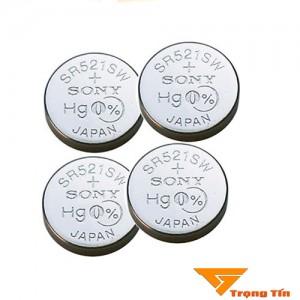 Pin đồng hồ SR521SW Sony