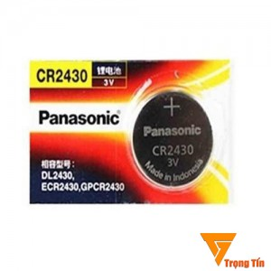 Pin CR2430 Panasonic (1 viên)