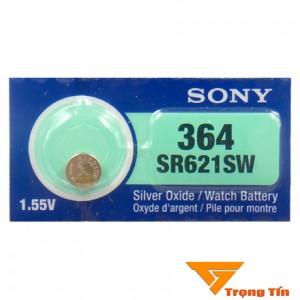 Pin đồng hồ SR621SW, Pin 364 Sony