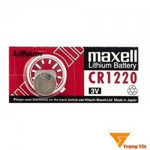 Pin CR1220 Maxell (1 viên)
