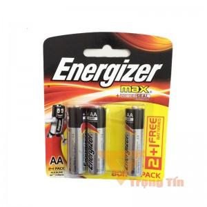 Pin AA Energizer alkaline vỉ 3 viên