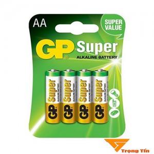 Pin aa GP Super alkaline vỉ 4 viên