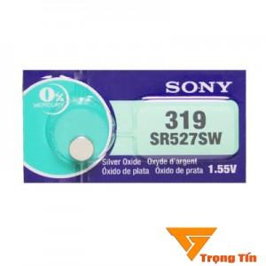 Pin đồng hồ SR527SW, pin 319 Sony