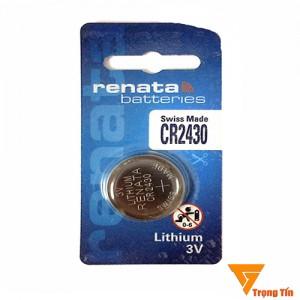 Pin Cr2430 Renata (vỉ 1 viên)