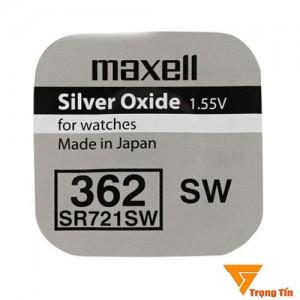 Pin đồng hồ SR721SW maxell 1.55v