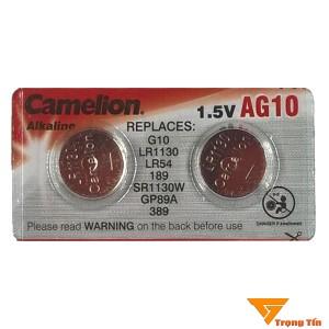 Pin AG10 LR1130 Camelion 1.5v