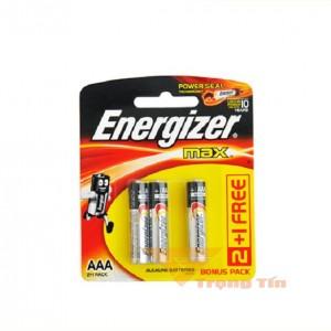 Pin Energizer AAA (vỉ 3 viên)