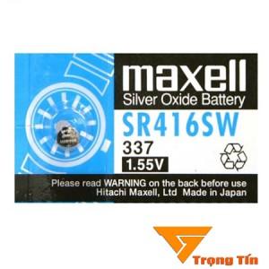 Pin SR416SW 337 Maxell pin đồng hồ