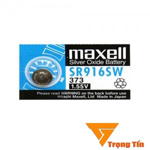 Pin đồng hồ SR916SW 373 Maxell