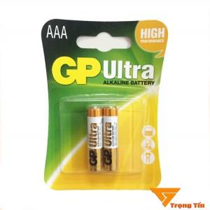 Pin aaa GP Ultra alkaline vỉ 2 viên