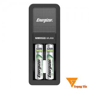 Máy sạc pin Energizer tự ngắt kèm 2 pin sạc aaa 700mah bộ sạc CHPC 3