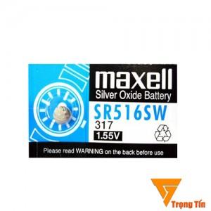 pin đồng hồ SR516SW 317 Maxell