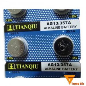 Pin AG13 Tianqiu  LR44/ A76/ 357A