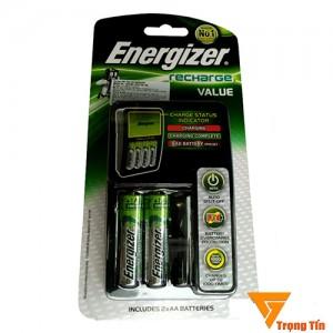 Bộ sạc pin Energizer 4 khe tặng kèm 2 pin