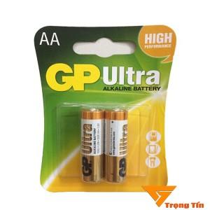 Pin aa GP Ultra alkaline vỉ 2 viên