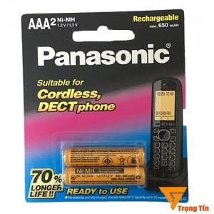 Pin điện thoại bàn Panasonic AAA (vỉ 2 viên)