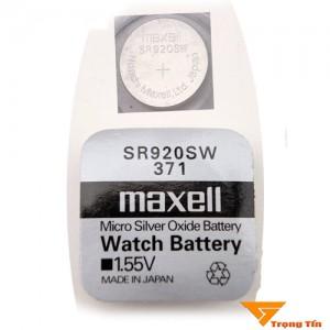 Pin SR920SW Maxell 1.55v, pin 371