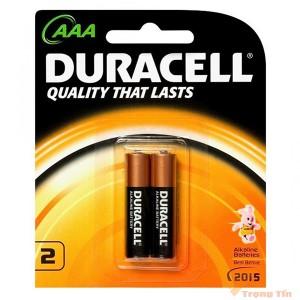Pin AAA Duracell (vỉ 2 viên)
