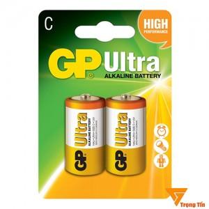 Pin trung GP, pin C GP chính hãng (vỉ 2 viên)