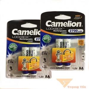 Pin sạc AA Camelion 2700mAh vỉ 2 viên