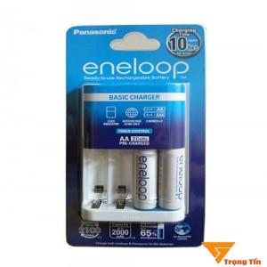 Bộ sạc pin Eneloop 4 khe tặng 2 pin sạc Eneloop BQ - CC51