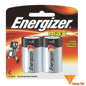 pin trung c LR14 Energizer alkaline (vỉ 2 viên)
