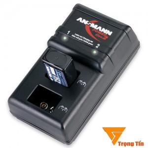 Bộ sạc pin 9v Powerline 2 Ansmann