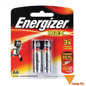 pin aa Energizer alkaline vỉ 2 viên