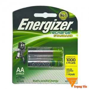 pin sạc aa Energizer 1300mah vỉ 2 viên