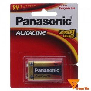 Pin 9v, pin vuông panasonic alkaline 6LR61T/1S