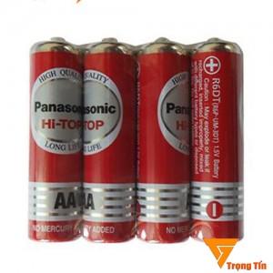 Pin AA Panasonic Cacbon (vỉ 4 viên màu đỏ)