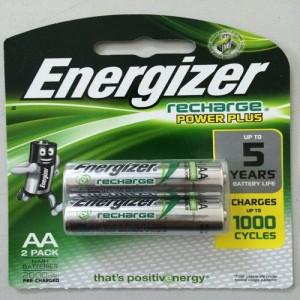 Pin sạc AA Energizer 2000mAh vỉ 2 viên