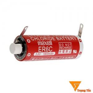 Pin ER6C Maxell