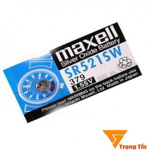 Pin đồng hồ SR521SW Maxell