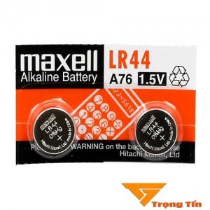 Pin AG13/ LR44 maxell alkaline 1.5v