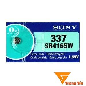 Pin SR416SW Sony pin 337 pin đồng hồ