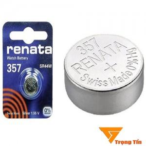 Pin SR44W/ 357 Renata 1.55v (vỉ 1 viên)