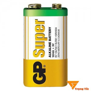 pin 9v, pin vuông GP Super alkaline vỉ 1 viên