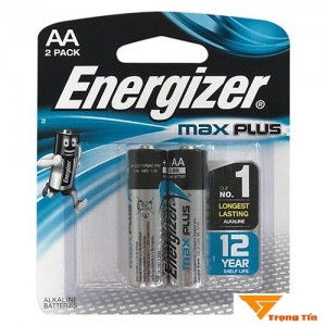 Pin AA Energizer Max Plus EP91 (vỉ 2 viên)