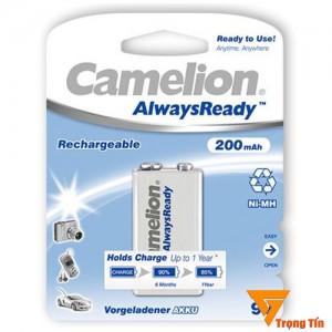 Pin sạc 9v Camelion, pin sạc vuông 200mAh