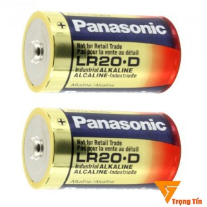 Pin đại Panasonic alkaline .D  (vỉ 2 viên)